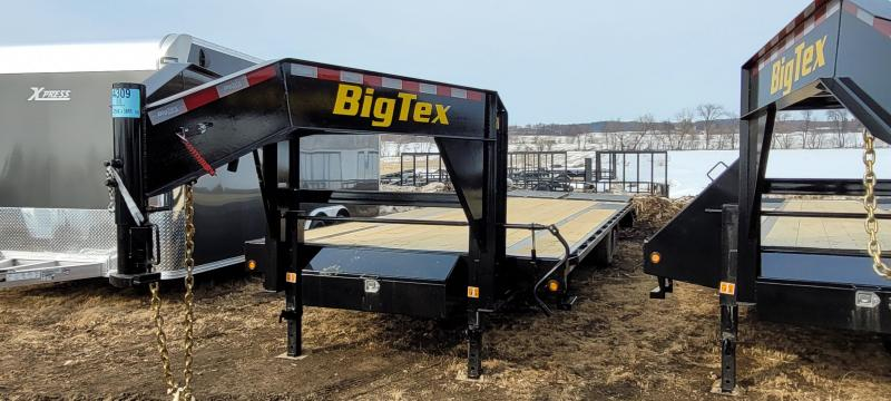 2021 Big Tex Trailers 16GN-25+5MR Equipment Trailer