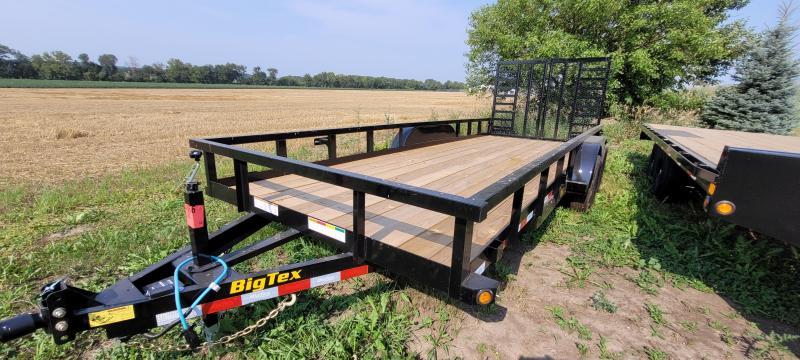 2021 Big Tex Trailers 10PI-20 7x20 Equipment Trailer with split ramp