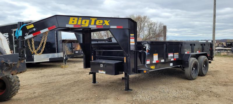 2021 Big Tex Trailers 14GX-16 14K 16 ft. Gooseneck Dump Trailer