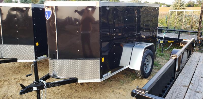 2022 Interstate 1 Trailers 4x8 Enclosed Cargo Trailer
