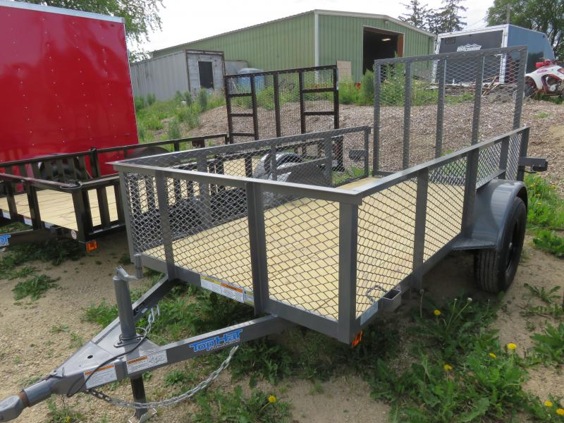 2021 Top Hat Trailers 10x60 MRAX Utility Trailer with rear Rampgate