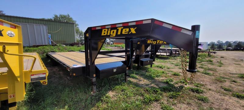 2021 Big Tex Trailers 14GN-25+5 Flatbed Trailer