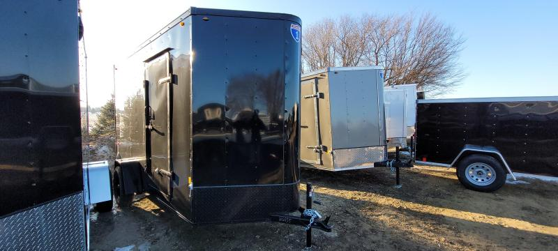2021 Interstate 1 Trailers 6x12 BLACKOUT Enclosed Cargo Trailer with Ramp