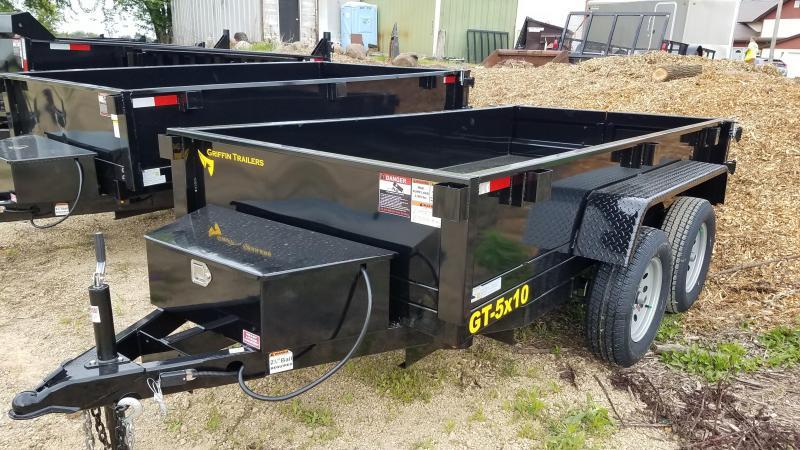 2021 Griffin 5x10 7K Tandem Axle Dump Trailer