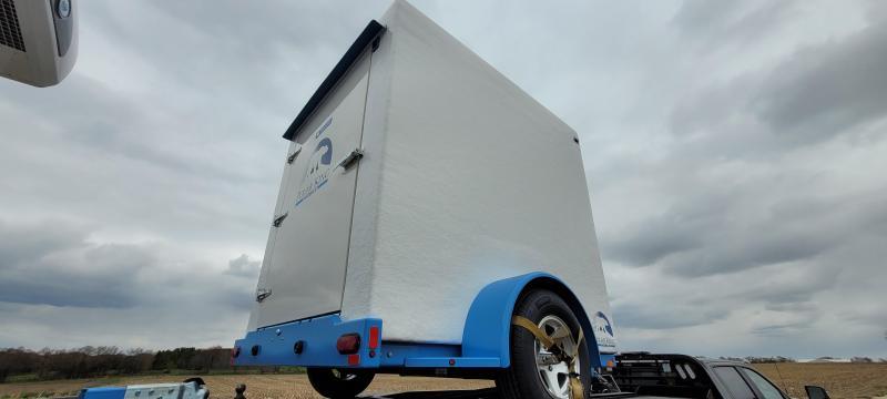 2021 Polar King PKM68 6x8 Refrigerated Vending Trailer