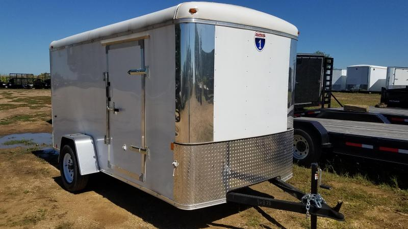 2021 Interstate 6x12 Enclosed Cargo Trailer with Rounded Top