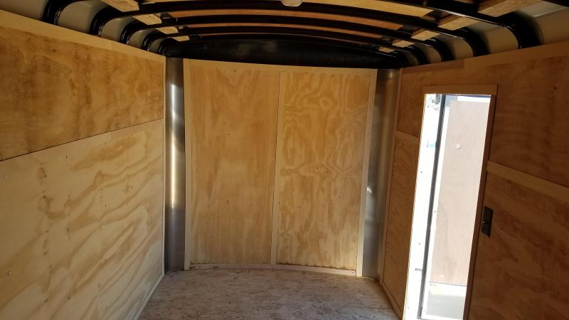 2020 Interstate 6x12 Enclosed Cargo Trailer with Rounded Top