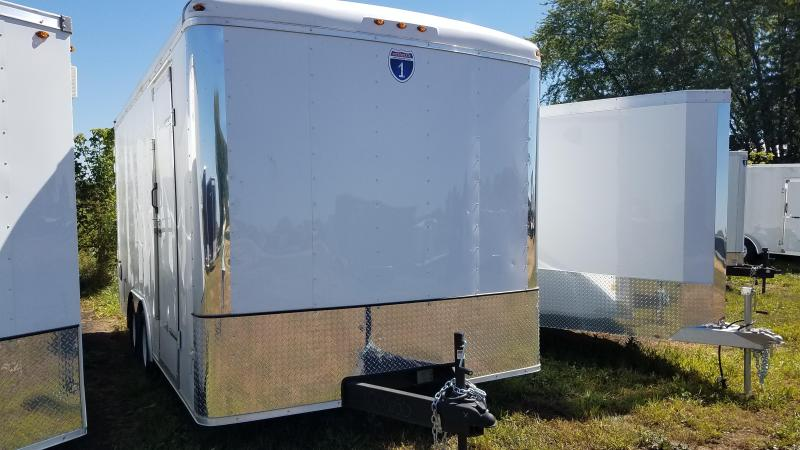 2020 Interstate 8.5x16 Enclosed Cargo Trailer