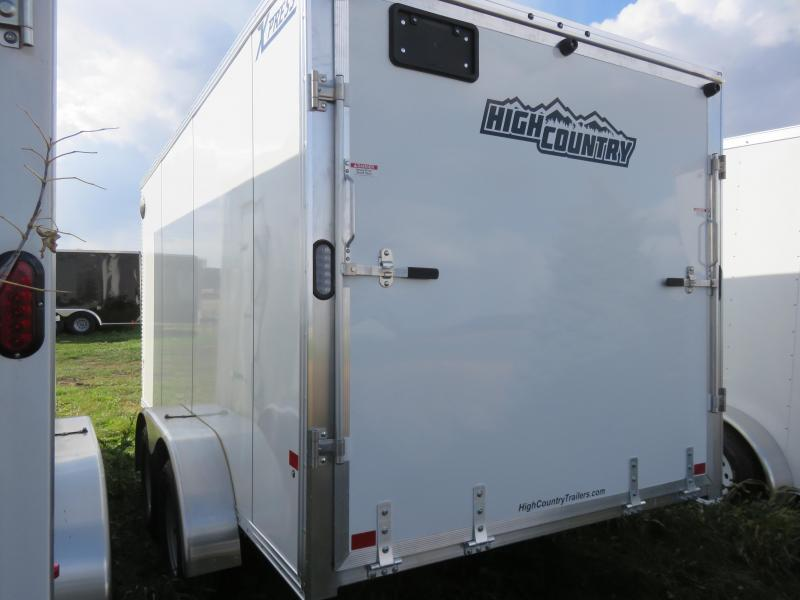 2021 High Country XPRESS 7X14 Aluminum Enclosed Cargo Trailer