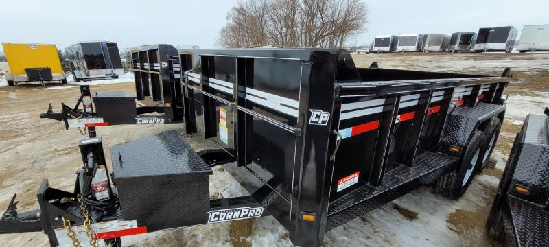2021 CornPro 14ft 14K Contractor Package Dump Trailer