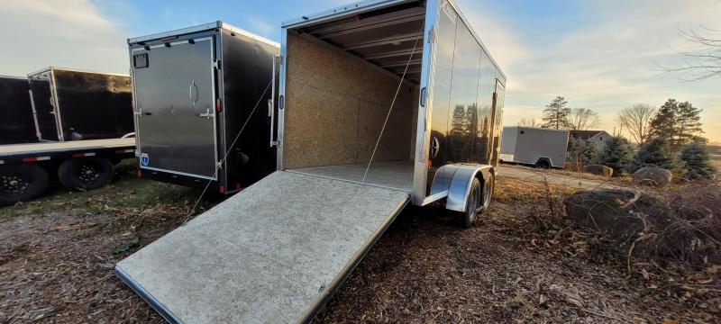 2021 High Country XPRESS 7X14 Aluminum Enclosed Cargo Trailer-Black with Ramp