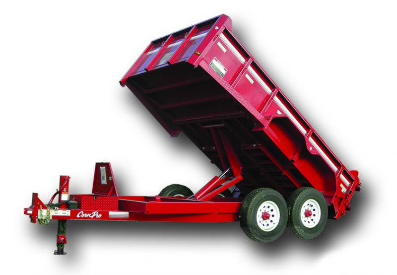 2021 CornPro 14K Dump Trailer with Contractor Package