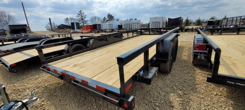 2021 Big Tex Trailers 14PI-18 Equipment Trailer