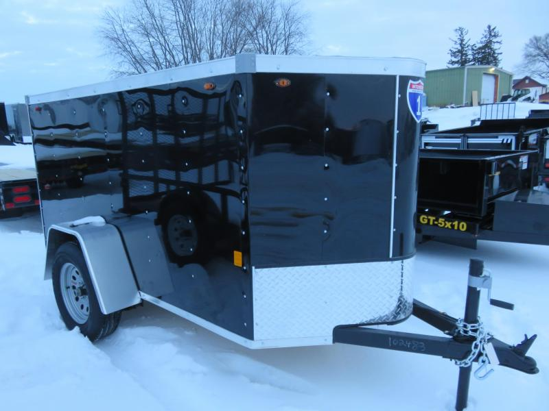 2021 Interstate 4x8 Enclosed Cargo Trailer with ramp