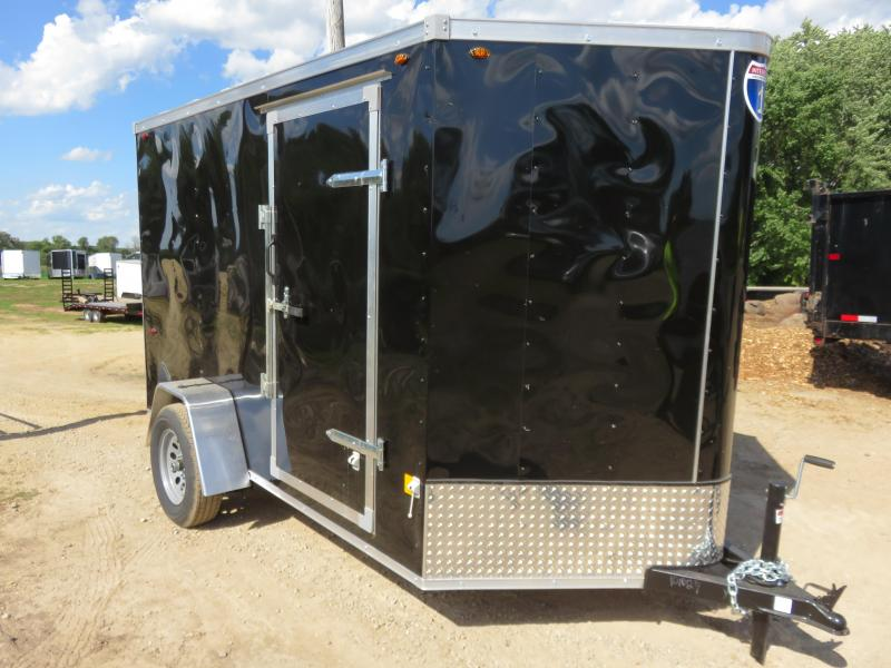 2021 Interstate 6x10 Enclosed Cargo Trailer-Black with Ramp