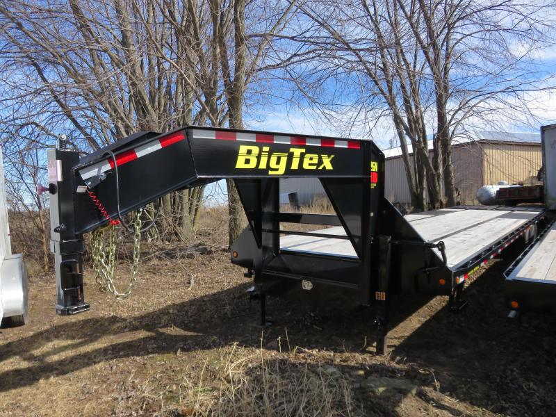 2019 Big Tex Trailers 22GN-30+5 Equipment Trailer with Mega Ramps