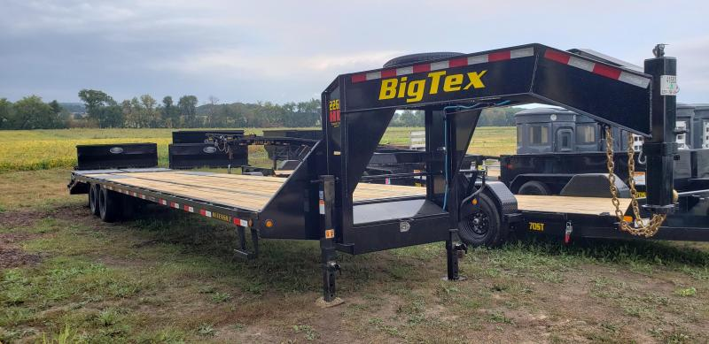 2022 Big Tex Trailers 22GN-30+5 Equipment Trailer with Mega Ramps