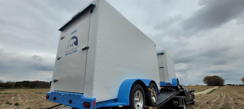 2021 Polar King PKM612 6x12 Refrigerated Vending Trailer