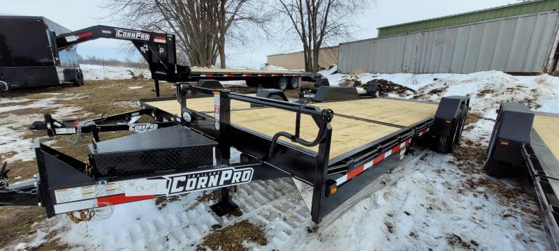 2021 CornPro UT-23 HT 14K 6+17 Utility Trailer