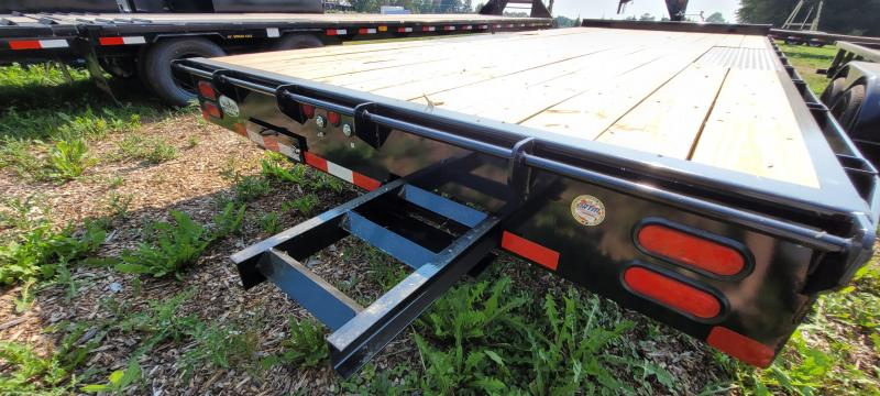 2021 Big Tex Trailers 14OA-20 8.5x20 Equipment Trailer with 8ft Slide in Ramps
