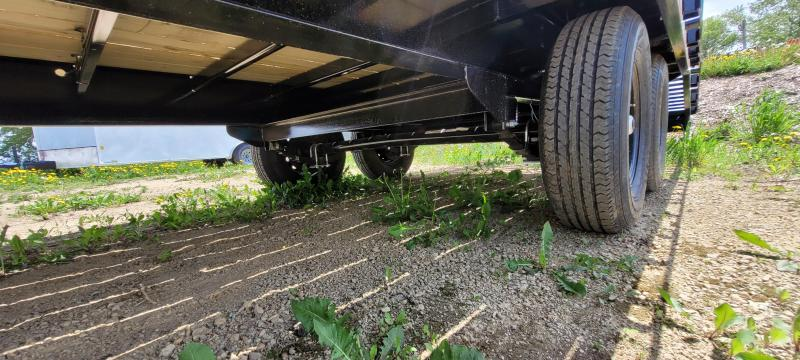 2022 Big Tex Trailers 14gn-25 Flatbed Trailer with Skid Steer Ramps
