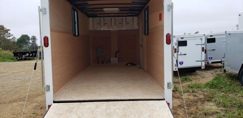 2022 Interstate 1 Trailers 7x16 Enclosed Cargo Trailer with A/C and Electrical