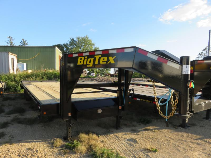 2021 Big Tex Trailers 14GN 25+5 Equipment Trailer with Mega Ramps