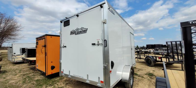 2021 High Country XPRESS 7X12 DL Enclosed Cargo Trailer