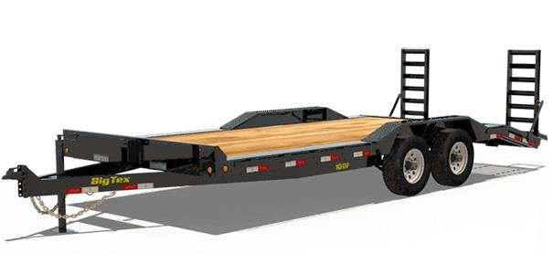 2021 Big Tex Trailers 10DF-22 Drive Over Fenders 22x83 Car / Racing Trailer