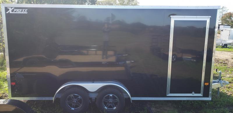 2022 Alcom 7.5x16 Enclosed Cargo Trailer