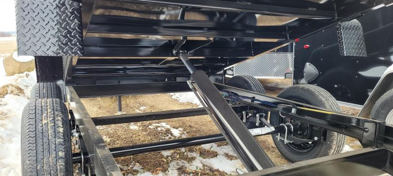 2021 Big Tex Trailers 5x10 7K Dump Trailer