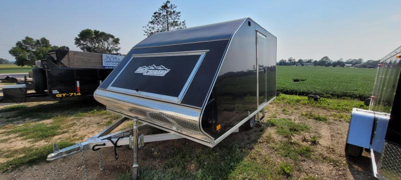 2021 High Country Aluminum 101x12 CROSSOVER Snowmobile Trailer