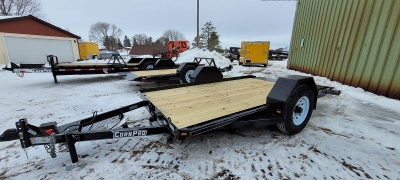 2021 CornPro 12ft 6K Single Axle Tilt Utility Trailer