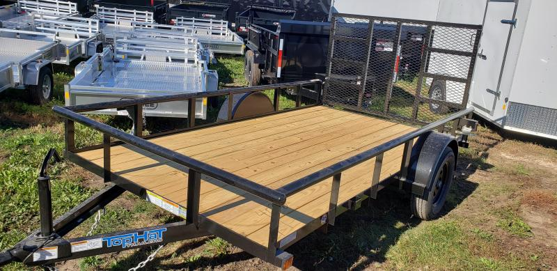 2022 Top Hat Trailers 12x77 Utility Trailer