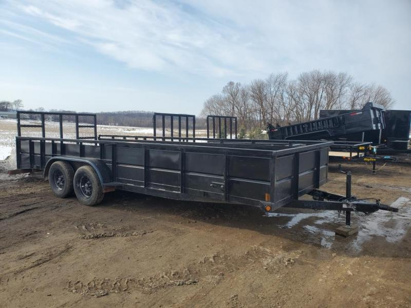 2020 Top Hat Trailers RA 20X83 Utility Trailer