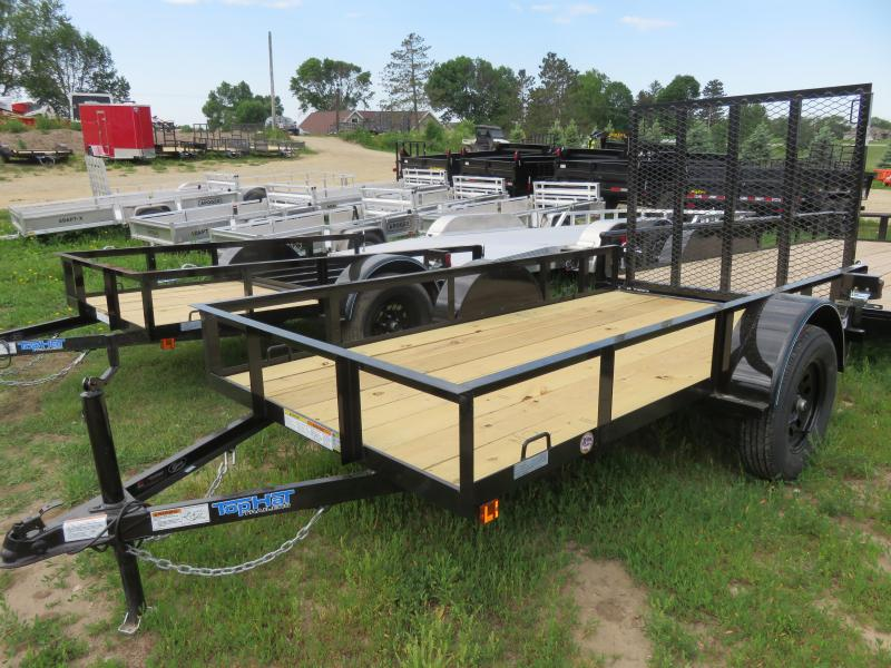 2021 Top Hat Trailers 10x60 X Utility Trailer