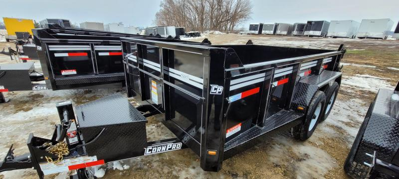 2021 CornPro 12ft 12K Dump Trailer