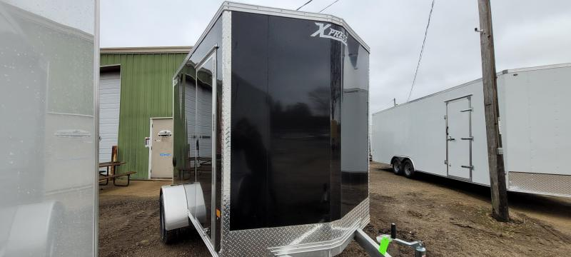 2021 High Country XPRESS 6X10 DL Enclosed Cargo Trailer-Black with Ramp
