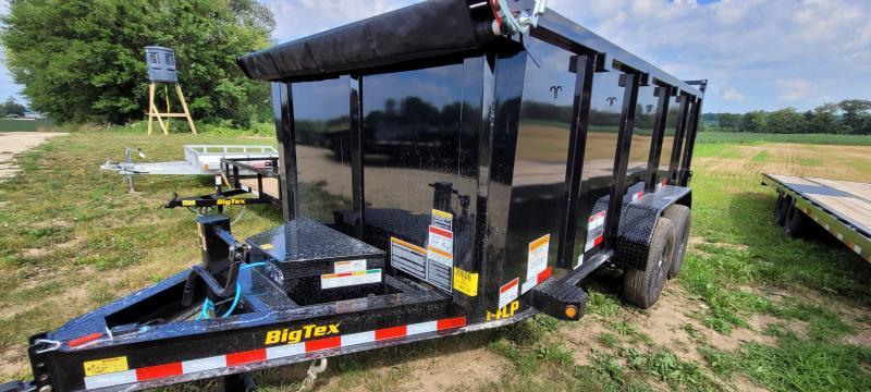 2022 Big Tex Trailers 14LP-14 Dump Trailer 4ft sides