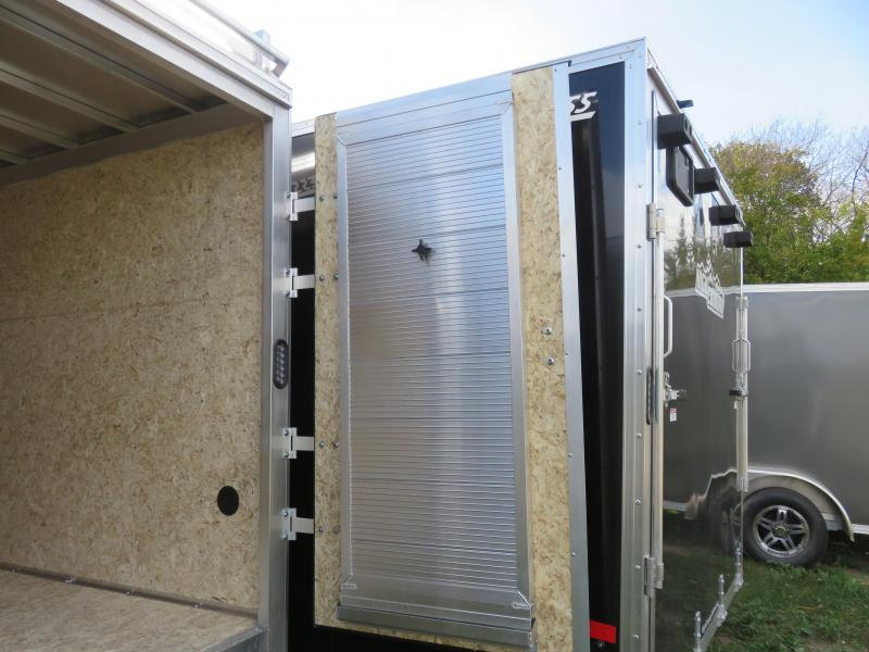 2021 Express Trailer 7X16 Enclosed Cargo Trailer with Contractor Package