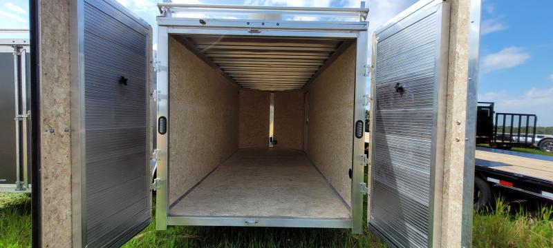 2022 Express Trailer 7X16 Enclosed Cargo Trailer with Contractor Package