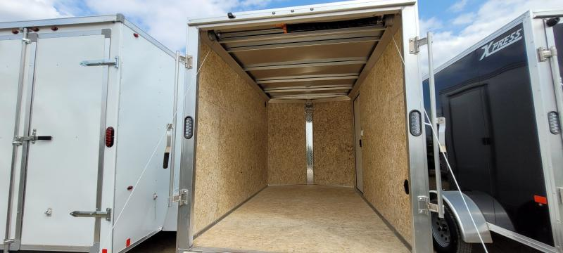 2021 High Country XPRESS 6X10 DL Enclosed Cargo Trailer-White with Ramp
