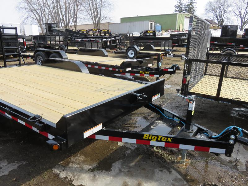 2021 Big Tex Trailers 10K 83x16 Equipment Trailer with ramps