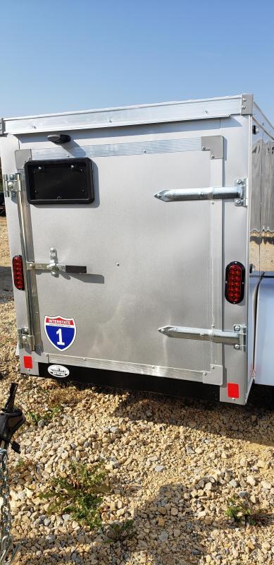 2022 Interstate 1 Trailers 4x6 Enclosed Cargo Trailer