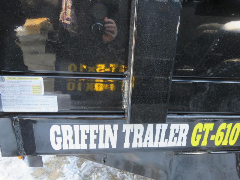 2021 Griffin 6x10 10K Dump Trailer