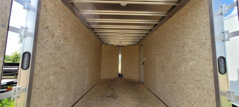 2022 Express Trailer 7X14 Enclosed Cargo Trailer with Contractor Package