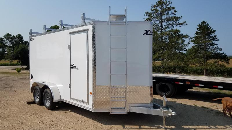 2020 Express Trailer 7X14 Enclosed Cargo Trailer with Contractor Package