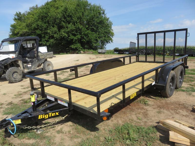 2020 Big Tex Trailers 60PI 16ft Utility Trailer