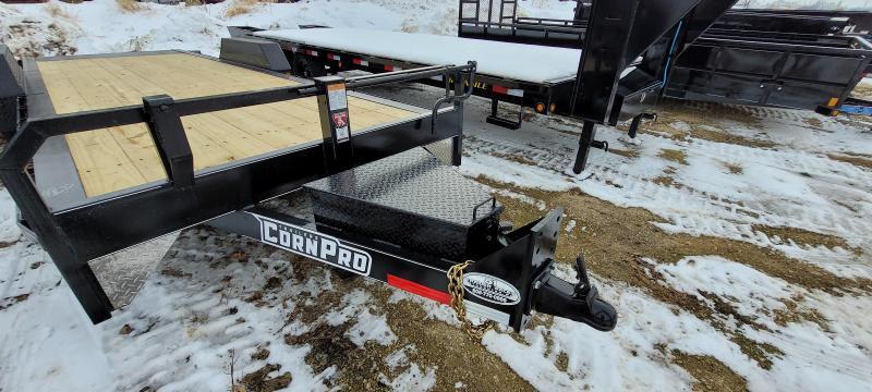 2021 CornPro Trailers 23ft 16K 6+17 Tilt Equipment Trailer