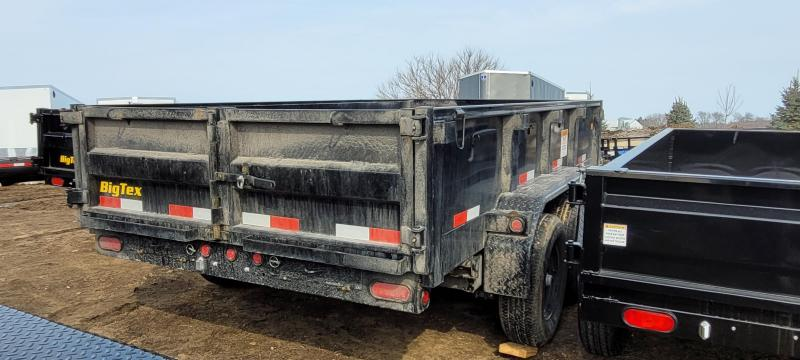 2021 Big Tex Trailers 6x12 90SR-12 Dump Trailer with 7ft Slide in Ramps